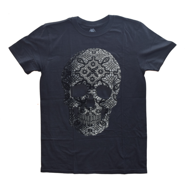 Playera calavera diamante